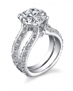 we think our engagement rings speak for themselves but can we just point out how stunning and truly one of a kind these styles are - One Of A Kind Wedding Rings