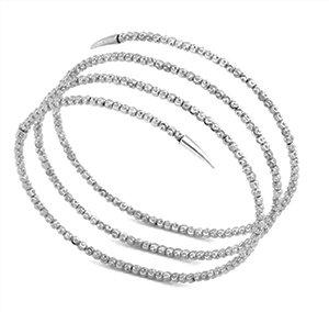 silver wrap bracelet