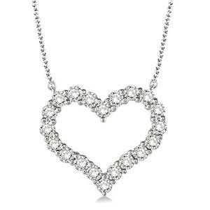 Diamond Heart Necklace Gittelson Jewelers Mpls Mn