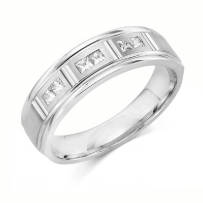 mens princess cut ring