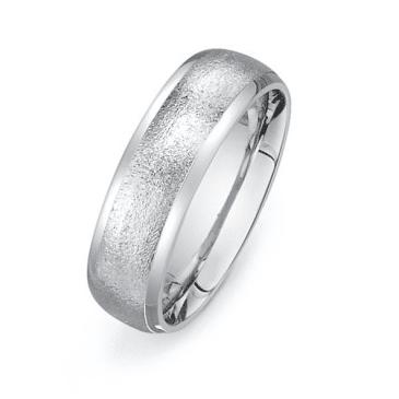sandblasted ring