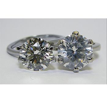 Solitaire diamonds