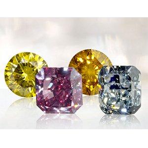 Rare and colored diamonds