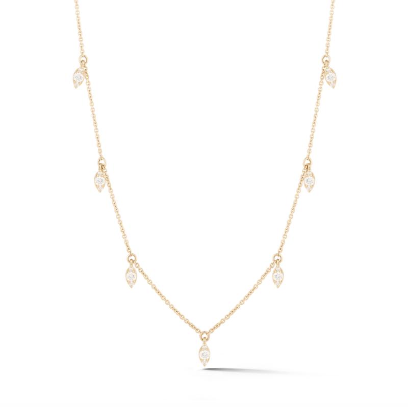 Dana Rebecca Diamond Station Necklace Gittelson Jewelers